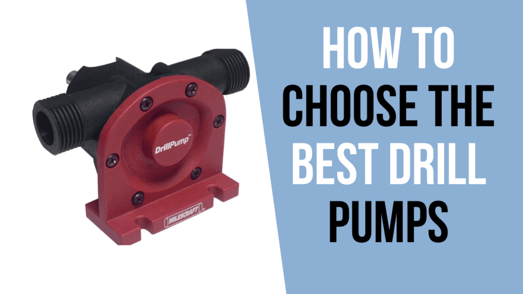 How to Choose Best Drill Pumps